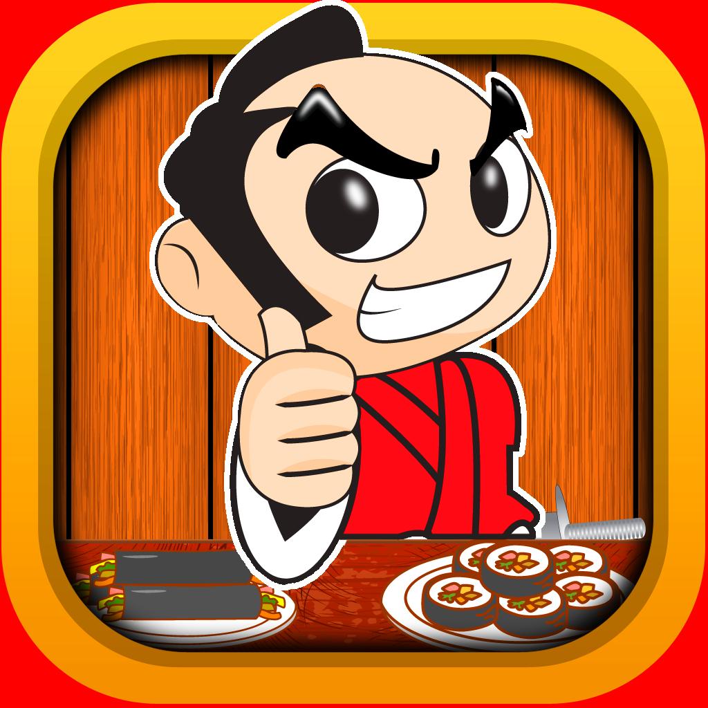 Sushi Samurai Ninja Chef - Extreme Cutting Game-Blast